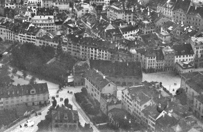 Altstadt - Waaghaus mit östlichem Annex-Gebäude - Eduard Spelterini 1893-1924
