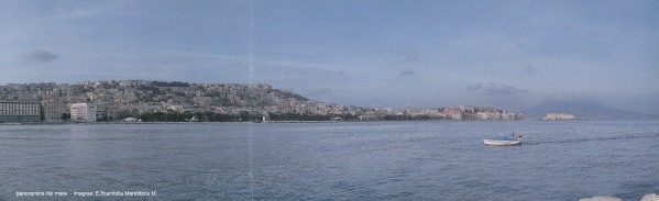 panoramica dal mare