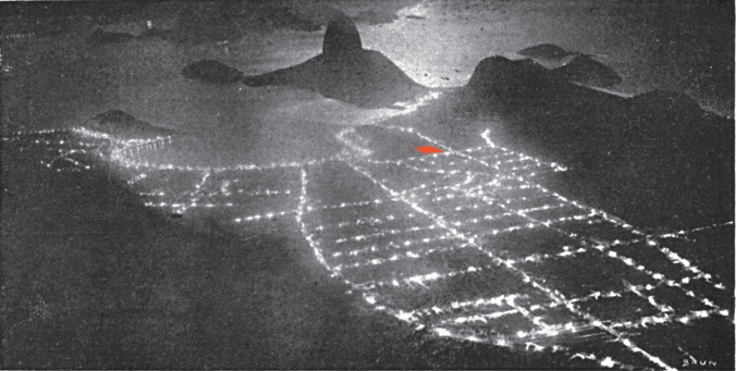 1911 Fon-Fon, Botafogo by night, Brun copy