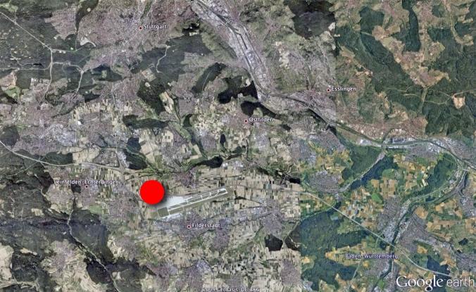 Satellite image, rendered