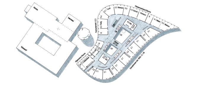 Grundriss Obergeschoss 150