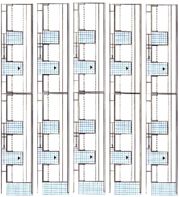 Grundriss Atrium Typologie