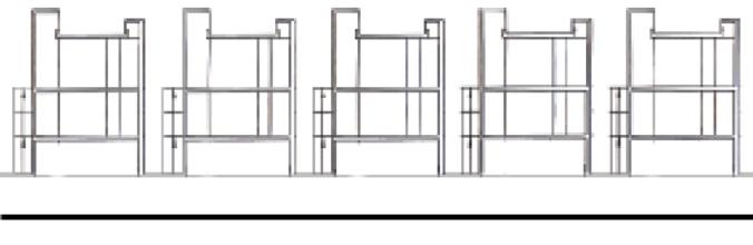 Schnitt Atrium Typologie