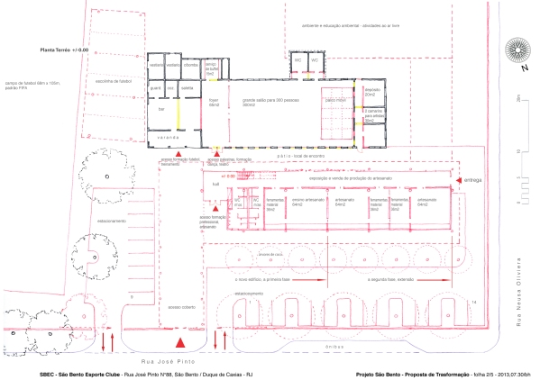 2-5 SBEC - Ground Floor Plan 1-200 mv