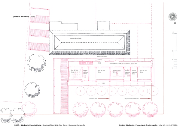3-5 SBEC - 1st Floor Plan 1-200 mv