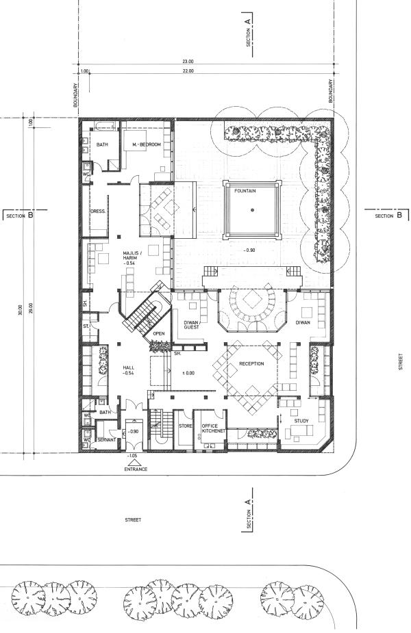 ground floor 1-100