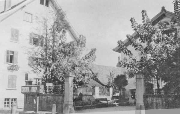 PTT Vorgarten 1910?